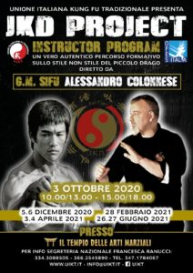JKD Project Instructor Program @ il tempio delle arti marziali